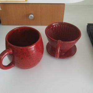 横浜泉区にある整体院あきば整体の院長のマグカップ