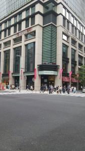 勉強会和親塾で東京駅から馬喰町駅まで歩きました。