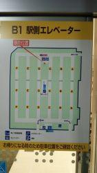 イトーヨーカドーの駐車場 解説図
